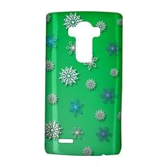 Snowflakes Winter Christmas Overlay Lg G4 Hardshell Case by Celenk