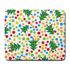 Pattern Circle Multi Color Large Mousepads by Celenk