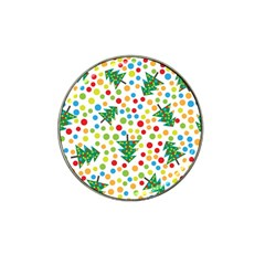 Pattern Circle Multi Color Hat Clip Ball Marker (4 Pack) by Celenk