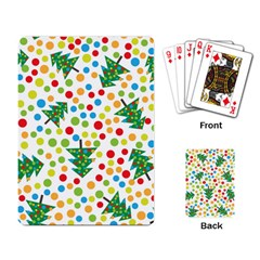 Pattern Circle Multi Color Playing Card by Celenk