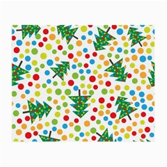 Pattern Circle Multi Color Small Glasses Cloth (2 Side) by Celenk