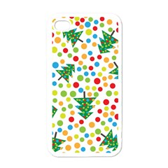 Pattern Circle Multi Color Apple Iphone 4 Case (white) by Celenk