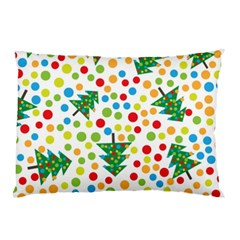 Pattern Circle Multi Color Pillow Case (two Sides) by Celenk