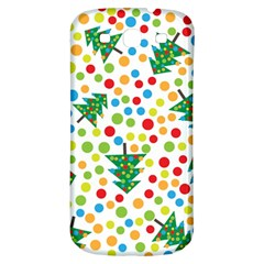 Pattern Circle Multi Color Samsung Galaxy S3 S Iii Classic Hardshell Back Case by Celenk