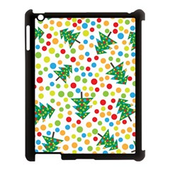 Pattern Circle Multi Color Apple Ipad 3/4 Case (black) by Celenk