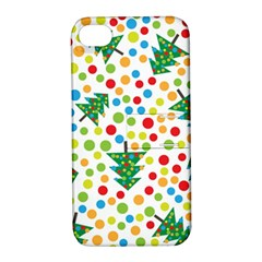 Pattern Circle Multi Color Apple Iphone 4/4s Hardshell Case With Stand by Celenk