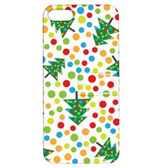 Pattern Circle Multi Color Apple Iphone 5 Hardshell Case With Stand by Celenk