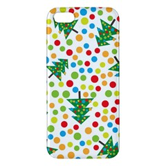 Pattern Circle Multi Color Apple Iphone 5 Premium Hardshell Case by Celenk