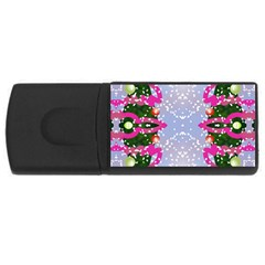 Seamless Tileable Pattern Design Rectangular Usb Flash Drive by Celenk