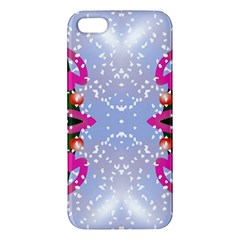 Seamless Tileable Pattern Design Apple Iphone 5 Premium Hardshell Case by Celenk