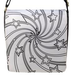 Star Christmas Pattern Texture Flap Messenger Bag (s) by Celenk