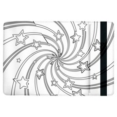 Star Christmas Pattern Texture Ipad Air Flip by Celenk
