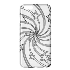 Star Christmas Pattern Texture Apple Iphone 6 Plus/6s Plus Hardshell Case by Celenk