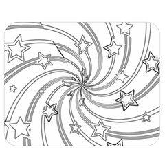 Star Christmas Pattern Texture Double Sided Flano Blanket (medium)  by Celenk