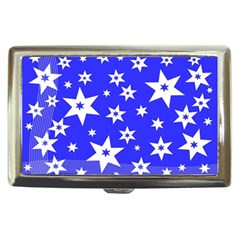 Star Background Pattern Advent Cigarette Money Cases by Celenk