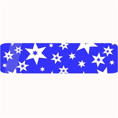 Star Background Pattern Advent Large Bar Mats by Celenk