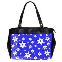 Star Background Pattern Advent Office Handbags (2 Sides)  by Celenk