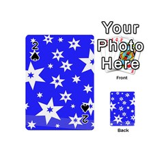 Star Background Pattern Advent Playing Cards 54 (mini)  by Celenk