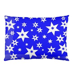 Star Background Pattern Advent Pillow Case (two Sides)