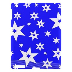 Star Background Pattern Advent Apple Ipad 3/4 Hardshell Case by Celenk