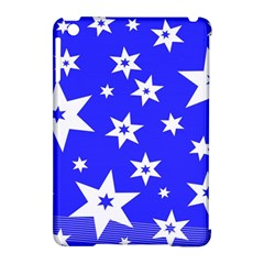 Star Background Pattern Advent Apple Ipad Mini Hardshell Case (compatible With Smart Cover) by Celenk