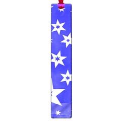 Star Background Pattern Advent Large Book Marks by Celenk