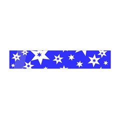 Star Background Pattern Advent Flano Scarf (mini) by Celenk