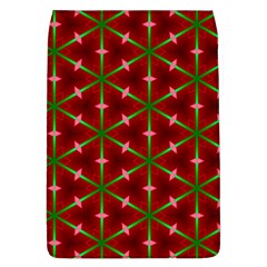 Textured Background Christmas Pattern Flap Covers (l)  by Celenk