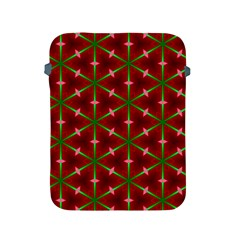 Textured Background Christmas Pattern Apple Ipad 2/3/4 Protective Soft Cases by Celenk