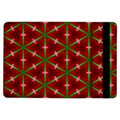 Textured Background Christmas Pattern Ipad Air Flip by Celenk