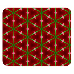 Textured Background Christmas Pattern Double Sided Flano Blanket (small)  by Celenk