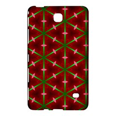 Textured Background Christmas Pattern Samsung Galaxy Tab 4 (8 ) Hardshell Case  by Celenk