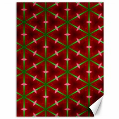 Textured Background Christmas Pattern Canvas 36  X 48   by Celenk