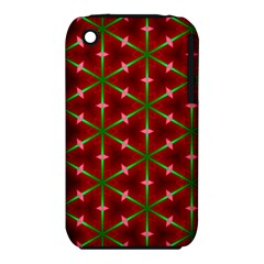 Textured Background Christmas Pattern Iphone 3s/3gs by Celenk