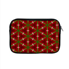 Textured Background Christmas Pattern Apple Macbook Pro 15  Zipper Case by Celenk