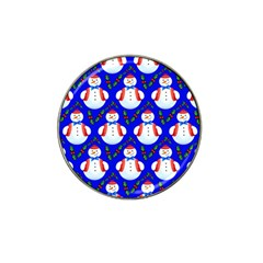 Seamless Repeat Repeating Pattern Hat Clip Ball Marker (4 Pack) by Celenk