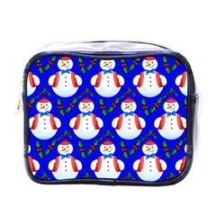 Seamless Repeat Repeating Pattern Mini Toiletries Bags by Celenk