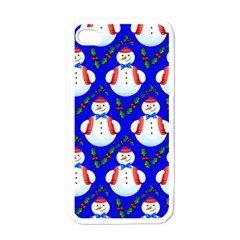 Seamless Repeat Repeating Pattern Apple Iphone 4 Case (white) by Celenk