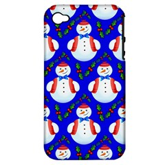 Seamless Repeat Repeating Pattern Apple Iphone 4/4s Hardshell Case (pc+silicone) by Celenk