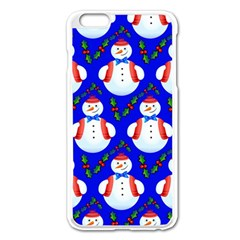 Seamless Repeat Repeating Pattern Apple Iphone 6 Plus/6s Plus Enamel White Case by Celenk