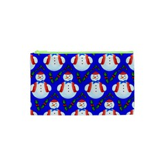 Seamless Repeat Repeating Pattern Cosmetic Bag (xs) by Celenk
