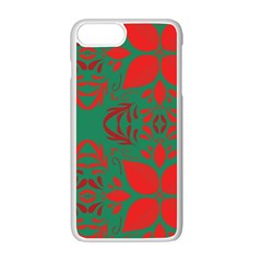 Christmas Background Apple Iphone 7 Plus Seamless Case (white) by Celenk