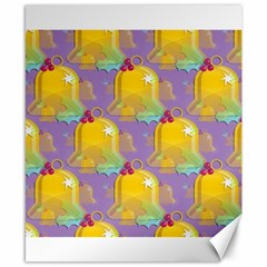 Seamless Repeat Repeating Pattern Canvas 8  X 10  by Celenk