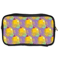 Seamless Repeat Repeating Pattern Toiletries Bags 2 Side by Celenk