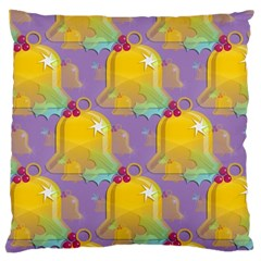 Seamless Repeat Repeating Pattern Large Cushion Case (two Sides) by Celenk