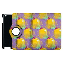 Seamless Repeat Repeating Pattern Apple Ipad 2 Flip 360 Case by Celenk