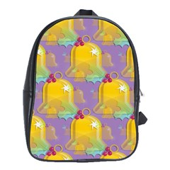 Seamless Repeat Repeating Pattern School Bag (xl) by Celenk