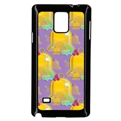 Seamless Repeat Repeating Pattern Samsung Galaxy Note 4 Case (black) by Celenk
