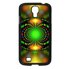 Christmas Ornament Fractal Samsung Galaxy S4 I9500/ I9505 Case (black) by Celenk