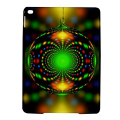 Christmas Ornament Fractal Ipad Air 2 Hardshell Cases by Celenk